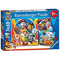 Ravensburger UK 5048 Ravensburger Paw Patrol 3X 49pc Jigsaw Puzzles,