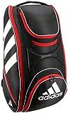 adidas Tour Tennis 12 Racquet Bag Tasche, Black/White/Scarlet, Einheitsgröße