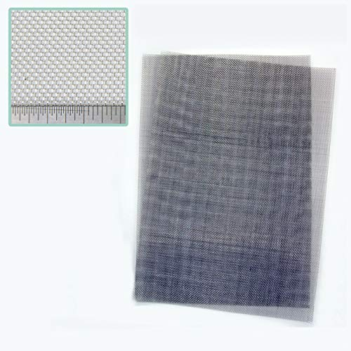 Pack of 2 - Stainless Steel Woven RODENT PROOF Mesh - 1mm Hole - A4 (210 x  300mm) Great For Airbricks