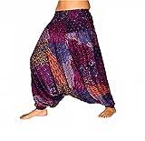 Mienloco, pantaloni da donna, harem, Aladdin, calzoni alla zuava - molti modelli   A15 Taglia Unica