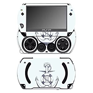 Disagu SF-14232_1035 Design Folie für Sony PSP Go – Motiv Anker transparent