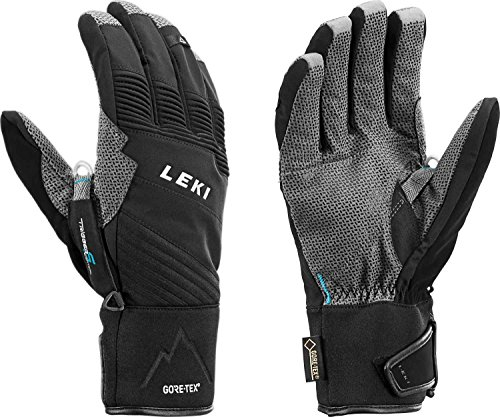 Leki Tour Pro V GTX - Touren Handschuhe mit Trigger S Vertical, Handschuhgröße Leki. Reusch & Fischer:9