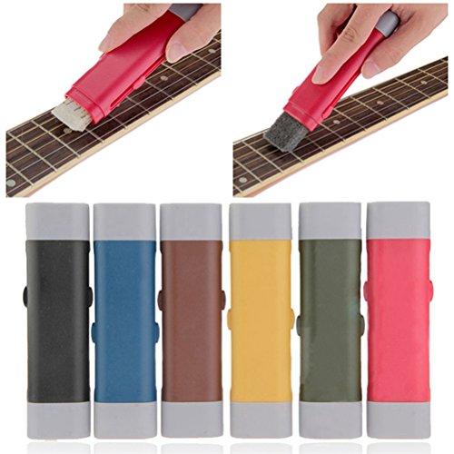 SUPVOX Gitarrensaiten, Saitenbürste, für Ukulele, Banjo, Pinsel für Musikinstrumente mit Saiten