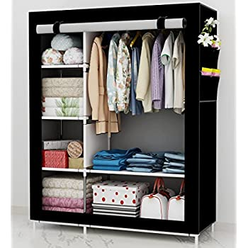 UDEAR Kleiderschrank Stoff Storage Wardrobe Bedroom Furniture ...