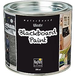 MagPaint Peinture tableau ardoise Noir 0,5l