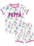 Peppa Pig - Ensemble De Pyjamas - Licorne - Fille - Blanc - 4-5 Ans