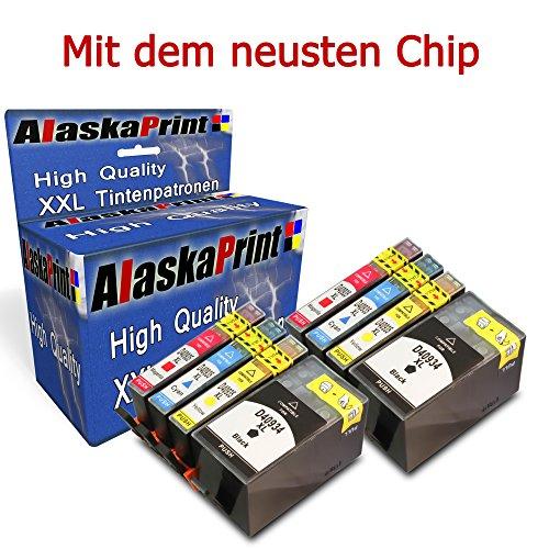Preisvergleich Produktbild 8er Set Druckerpatronen Kompatibel für hp 934 xl hp 935 xl schwarz Black BK hp 934xl hp 935xl für Officejet Pro 6830 e-Aio / Officejet Pro 6830 / Officejet Pro 6230 e-Aio / Officejet Pro 6830 Series / Officejet Pro 6835 / Officejet Pro 6230 / Officejet Pro 6835 e-Aio / Officejet Pro 6835 Series / Officejet Pro 6230 Series / Officejet Pro 6800 e-Aio / Officejet Pro 6800 Series Officejet 6812 / Officejet 6812 6815 / Officejet 6812 / OFFICEJET 6820