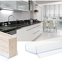 1,5m KÜCHENSOCKEL 16mm Abdichtungsprofil Sockel Dichtung Dichtprofil  Einbauküche Küche