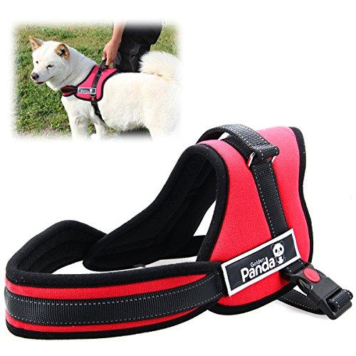 XCSOURCE® Chaleco Correa Nylon Arnés Control Acolchado Ajustable Seguridad para Perro Gato Grande Color Rojo L PS023