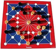 Spieltz 50623: Strategiespiel Tonkin als Reisespiel / Strandspiel. Spielplan auf LKW Plane, abwaschbar + rollb