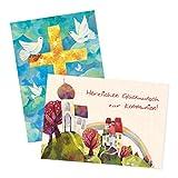 2er Set Glückwunschkarten zur Kommunion von Aurélie Blanz 2