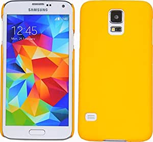 Cubix® Galaxy S5 (SM-G900I) Case, Super Slim Hard Back Cover for Samsung Galaxy S5 (SM-G900I) Yellow