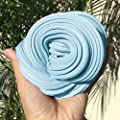 Fluffy Slime, 6OZ Baby Blue Putty Floam Slime Sensory Play Stress Relief Toy ADHT ASMR No Borax with Bubblegum Fragrance for Kids & Adults