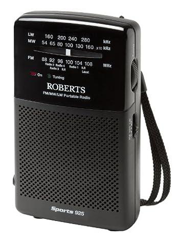 Roberts Sports925 Radio Portable Tri-band