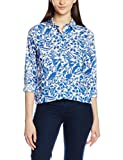 GANT Damen Sweatshirt Resort Bloom Shirt, Blau (Nautical Blue 422), (Size:40)