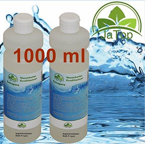 JaTop 2 x 500ml Wasserbett Konditionierer - Wasserbetten Conditioner Made in Germany Extrapure