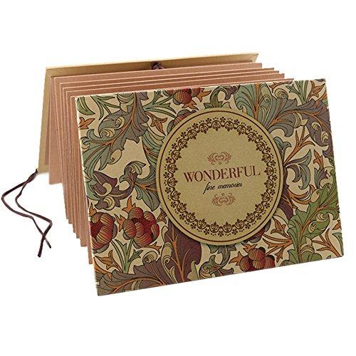 Sammelalbum im Akkordeon-Stil, für Hochzeiten, Jahrestage, Geburtstage usw. Wonderful (Adressbuch Personalisierte)