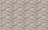 Hintergrundbild Wandsticker Wandtattoo Wanddekorationgroßeneue Schockiert 3D Stereo Ziegel Tapete Vintage Ziegel Hintergrund Angepasst Vliesstoff Tapete Mural150 * 105 Cm
