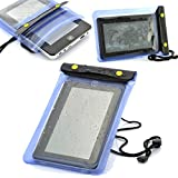 LUPO Waterproof Bag for Apple iPad Mini Retina, Mobile Phones and 7 inch Tablets (Size:196 x 150mm)