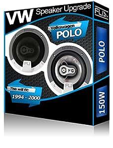 Avant de tableau de bord pour Volkswagen Polo Fli 4 haut-Parleurs 10 cm-kit haut-Parleur 150 W