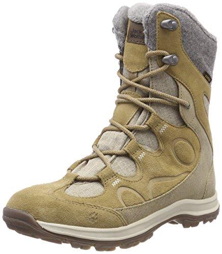 Bay-muster (Jack Wolfskin Damen Thunder Bay Texapore HIGH W Trekking- & Wanderstiefel, Beige (Sandstone 5101), 40.5 EU)