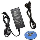 HQRP Netzadapter / Netzteil fuer Samsung UN19F4000 UN22F5000 LED LCD TV, SyncMaster S20A550H, S23A550H, S27A550H mit HQRP Untersetzer