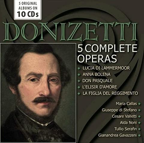 Donizetti Lucia - Donizetti / 5 Complete