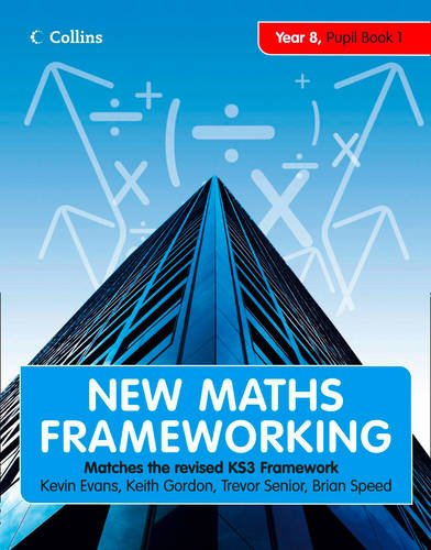 New Maths Frameworking - Year 8 Book 1: Collins Online Learning 3 year Licence
