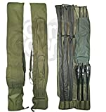Best Tackle Bags - Carp Fishing Tackle Rod Holdall Bag For 12 Review