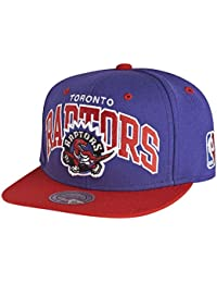 Mitchell & Ness and Toronto Raptors NBA Team Arch Snapback Cap NA80Z