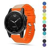 Für Garmin f?nix 5S GPS-Multisport-Smartwatch Uhr Ersatzband, iFeeker Weiche Silikon Quick...