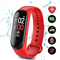 DANMEI M4 IPS Color Screen Smart Band with TFU bracelet,Activity Tracker,Heart Rate Monitor Pedometers