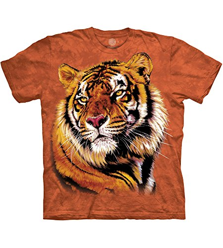 Erwachsen Power & Grace Tier T Shirt, Orange, M ()