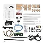 Engraver Machine Kit, Akozon 100-240VAC 395 mm x 285 mm DIY Desktop Incisione Laser Tagliatrice Engraver Stampante Cutter