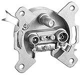 Dur-line Sat Unicable-Antennendose inkl. 1x Spezial-Endwiderstand diodenentkoppelt ; Sat -