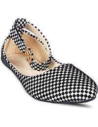 8d9fccba5c59 White Women s Ballet Flats  Buy White Women s Ballet Flats online at ...