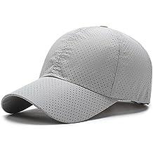 UKERDO D extérieur Sport Dotées Chapeau pour Homme Casquettes de Baseball  Accessories 8abb5ffb236