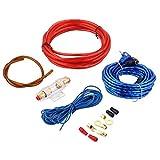 prettygood7 Stromversorgung Neue 8GA Auto Power Subwoofer Verstärker Audio Kabel Kabel Kit mit Sicherungshalter