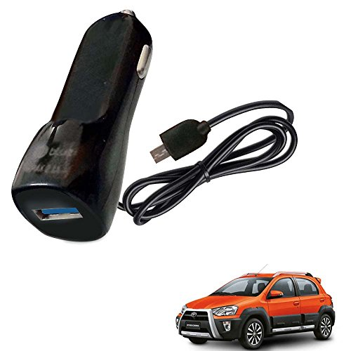 Vheelocityin Bluei 6 Month Warranty Car USB Charger Fast Charging USB Charger For Toyota Etios Cross