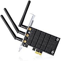 TP-Link Archer T9E Adattatore Wireless PCI Express, Dual Band AC1900, 3 Antenne Esterne Omnidirezionali, Tecnologia (Dual Band Wireless Desktop Antenna)
