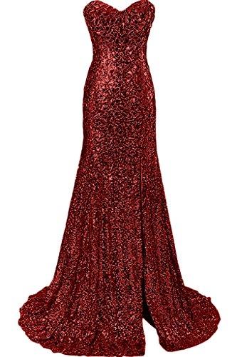 Ivydressing - Robe - Femme rouge bordeaux
