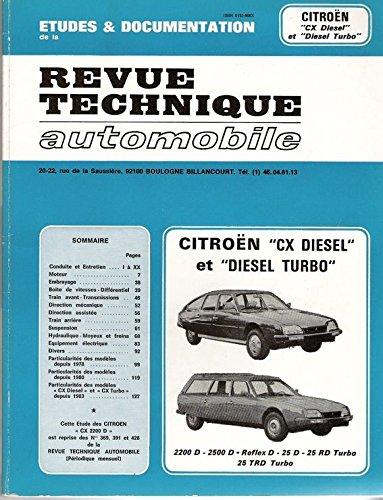 Revue technique automobile Citroën