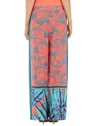 Marc Cain Collections Damen Hose GC 81.35 W82 Mehrfarbig (Sunrise 468)