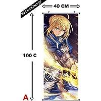 CoolChange Grande Fate Stay Night rollbild/Kakemono de plástico, 100x 40cm