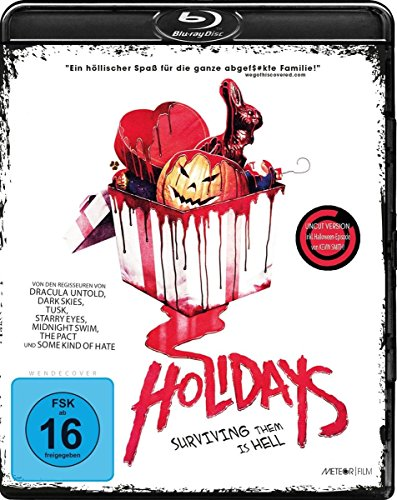 Bild von Holidays - Surviving them is hell (Uncut) [Blu-ray]