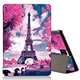 ZhuoFan Coque Samsung Galaxy Tab S4 10.5 Housse de Protection Origami Étui Cuir avec Support Multi-Angle Stand [Anti Choc] Smart...