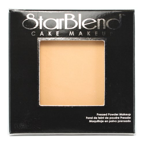 (3 Pack) mehron StarBlend Cake Makeup Light/Medium Olive