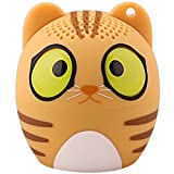 HUKOER Bluetooth 4.1 Cartoon Haut-parleur Portable / Ultra Mini Animaux Enceintes avec Bande Dessinée sans Fil ( Chat )