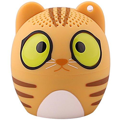 Preisvergleich Produktbild HUKOER Neue Mini Wireless Bluetooth Lautsprecher Kreative Cartoon Lautsprecherzubehör Telefon tragbare Audio Laut Stereo Schall Subwoofer (Katze)