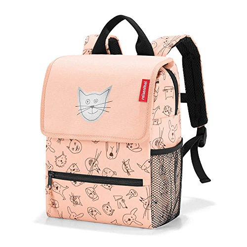Reisenthel backpack kids Kinder-Rucksack IE3064, 28 cm, 5 L, Cats And Dogs Rose